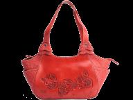 women fancy red handbag free png download