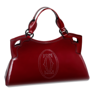 women fancy red handpouch free png download
