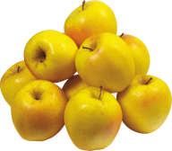 Yellow Apples Png Image Free Download