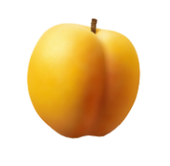 Yellowish Apricot Clipart